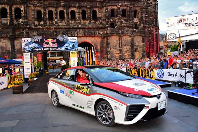 燃料電池車に世界が注目!「ミライ(MIRAI)」が参戦したWRC独ラリーでの期待度