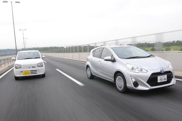 トヨタ アクア vs スズキ アルト【ガチンコ2台比較】究極の車選び