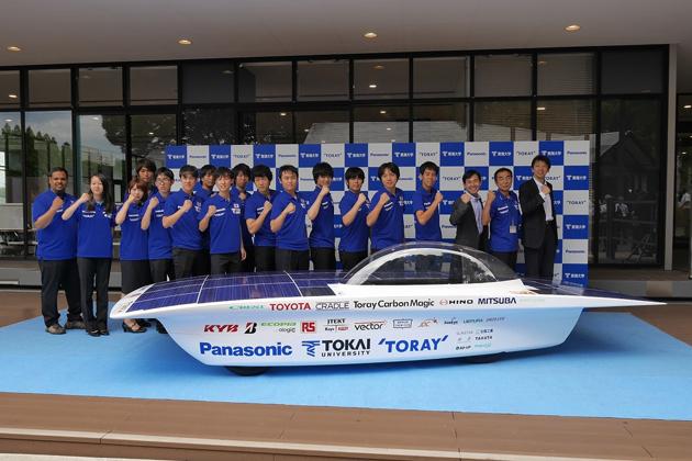WSC 2015への参戦を発表した東海大学ソーラーカーチーム