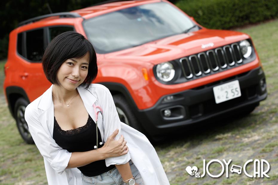 JEEP レネゲード/柏木美里の新型車診察しちゃうぞ!