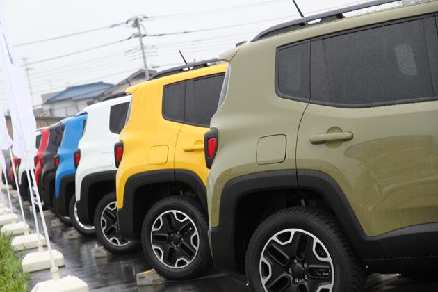 【新型コンパクトSUV「JEEP Renegade(ジープ レネゲード)」発表会レポート:2015年9月1日(月)/湘南T-SITE CAR LIFE LAB(神奈川県藤沢市)】
