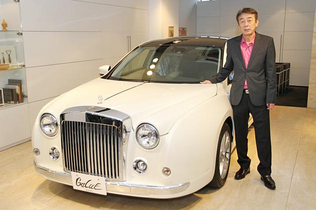 光岡自動車、フラッグシップセダン「我流(ガリュー)」を5年振りにフルモデルチェンジ
