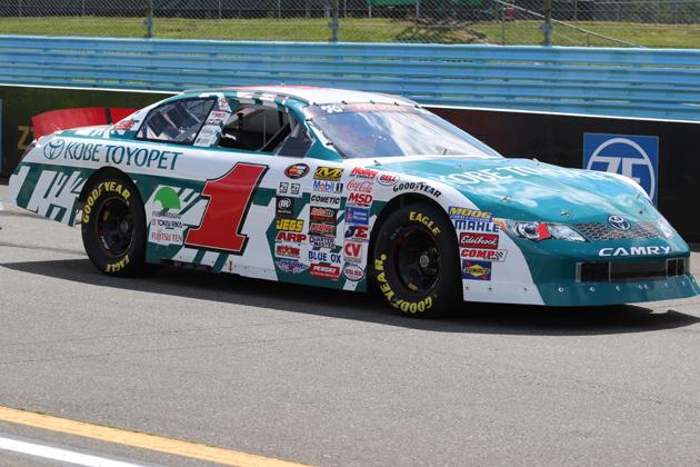 富士通テン、米「NASCAR」レースマシンをスポンサード