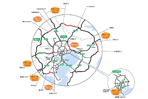 首都高の渋滞は激減してる? 外環の千葉区間開通でさらに緩和へ