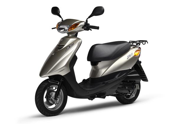 ジョグCE50 ライトイエローイッシュグレーメタリック9