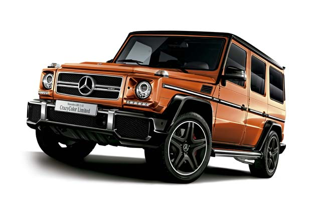 メルセデスAMG G 63 CrazyColor Limited