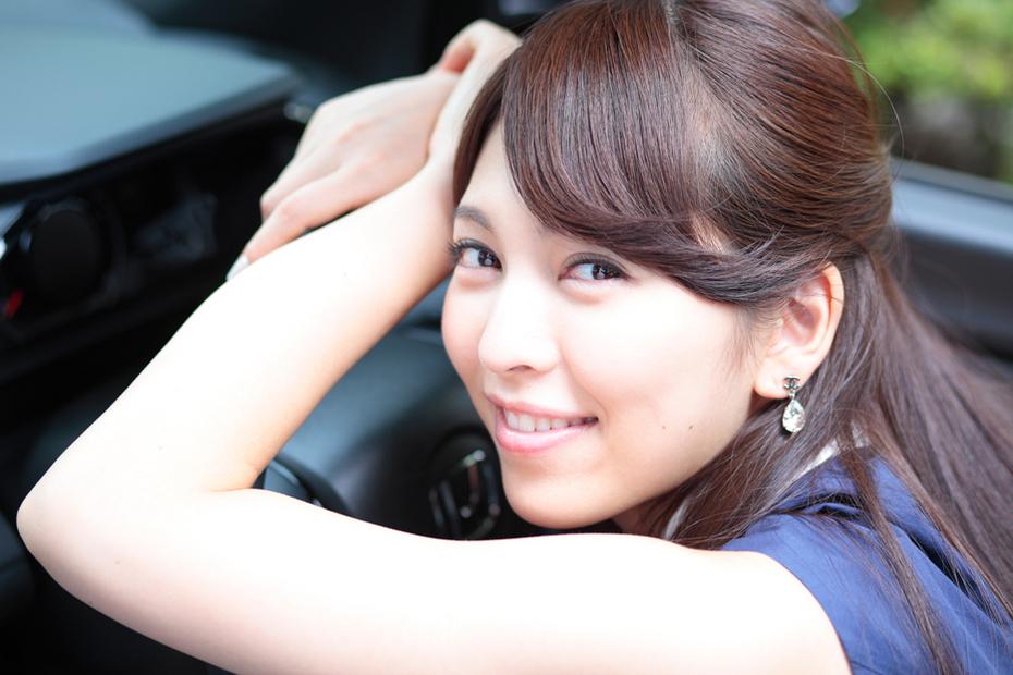 清楚系美女「白渚 悠」×ホンダ S660【ドライブデート】