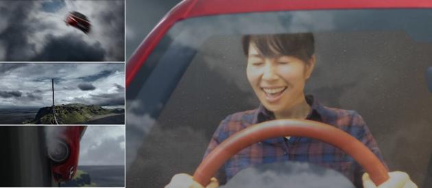 「Audi TT Landing, Japan」プロジェクト