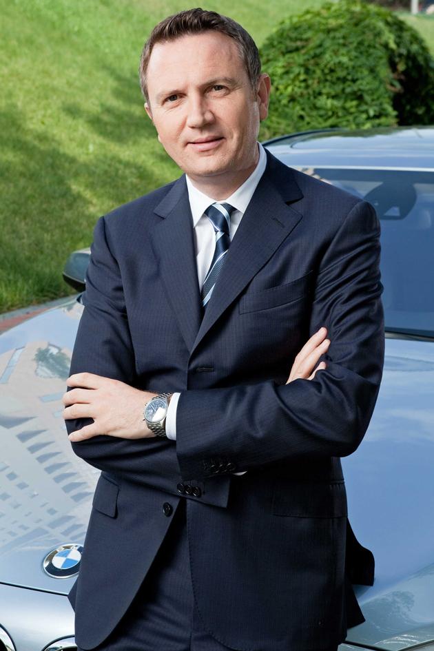 ビー・エム・ダブリュー株式会社 代表取締役社長のペーター・クロンシュナーブル氏