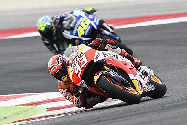 #93 マルク・マルケス・#46 バレンティーノ・ロッシ/MotoGP 第13戦 サンマリノGP