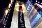 【動画】アウディ新型「TT」がビルの壁面にできた光の道を疾走!?@銀座