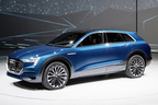 アウディが500馬力を超えるSUV電気自動車の発売を予告!【フランクフルトショー2015】