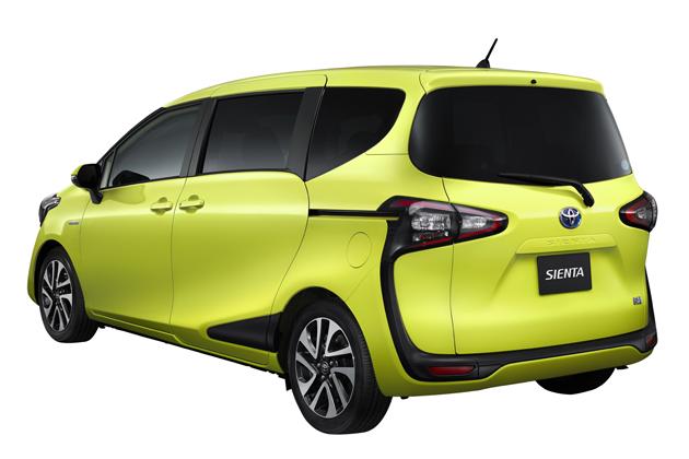 トヨタ 新型シエンタ HYBRID G (7人乗り) 〈オプション装着車〉 ボディカラー:エアーイエロー