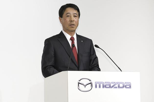 マツダ株式会社 小飼雅道 代表取締役社長兼CEO
