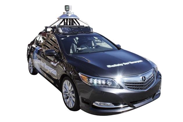自動運転システム車両