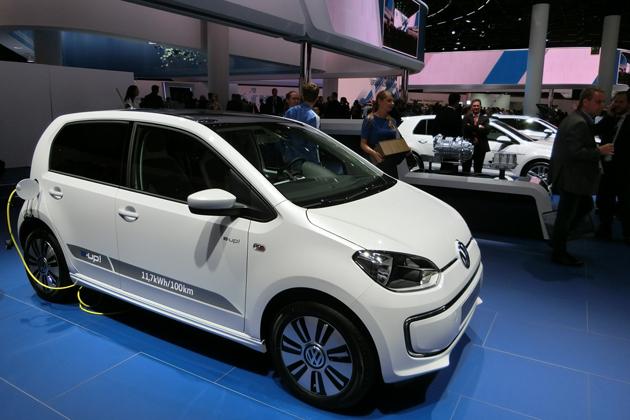 フランクフルトショー2015 VWブース