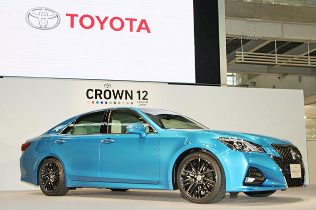 """""""本当に美しい・綺麗な車""""トヨタ『クラウン』がビッグマイナーチェンジ !「アスリート」に新たに12色のカラーを追加"""