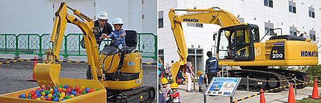 コマツ、湘南工場フェア2015を開催