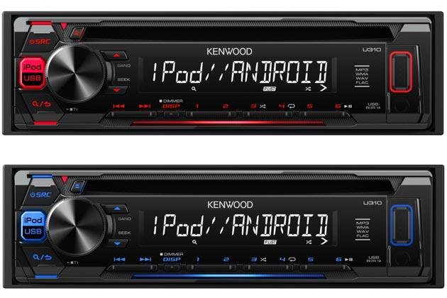 ケンウッド CD/USB/iPod レシーバー