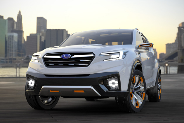 スバル、アイサイトによる「自動運転」の実現に向けたコンセプトモデルを世界初公開【東京モーターショー2015】