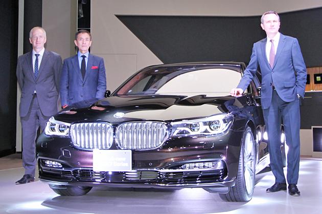 BMW 新型7シリーズ発表会