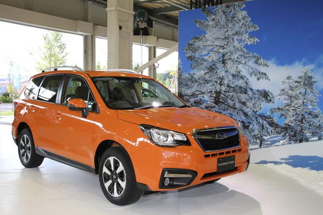 スバル 新型SUV「フォレスター」・「XV」を一足お先に初公開!【発表会レポート】