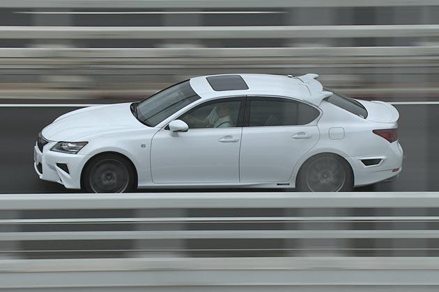トヨタの自動運転実験の様子(高速道路)