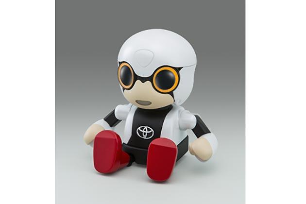 """トヨタ、『東京モーターショー2015』において「KIROBO MINI」を世界初公開!宇宙に行った""""あの""""ロボットが小さくなって登場!"""