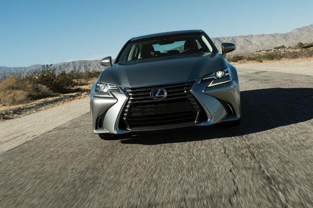 レクサス、東京モーターショーで新型「GS F」「GS」を国内初披露