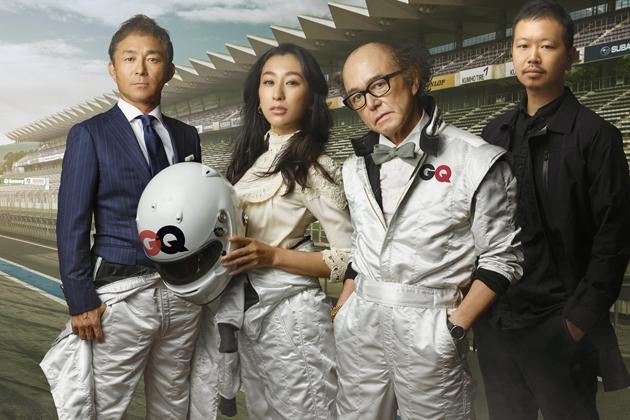 レクサスが「GQ JAPAN RACING TEAM」をサポート