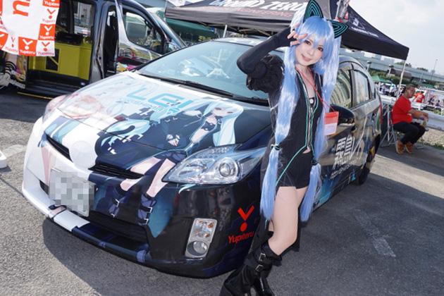 世界最大の痛車の祭典「痛Gふぇすた2015 in お台場」