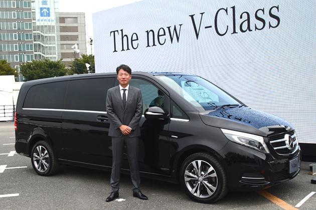 「メルセデス・ベンツ 新型Vクラス」発表会速報