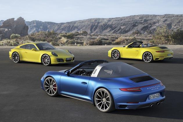 911 Carrera 4S・911 Targa 4S