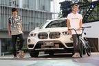 【動画】BMW X1の新車発表で世界チャンピオンたちがスゴ技を魅せた!