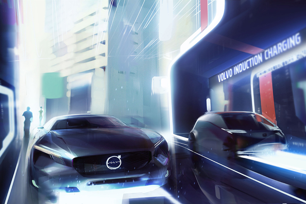 ボルボが2019年までに市販予定のEV車イメージ