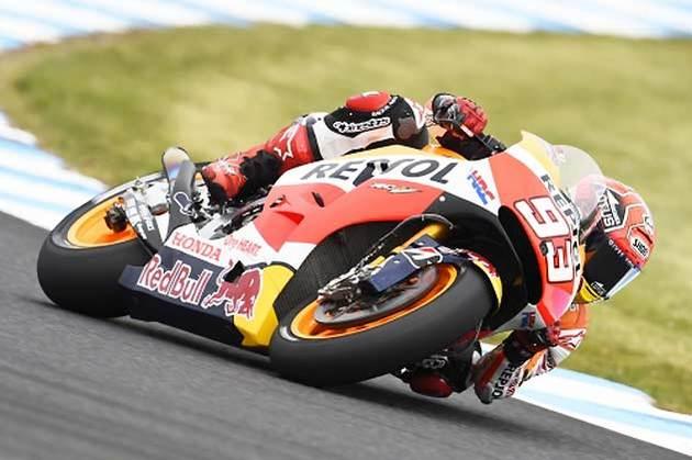 マルク・マルケス選手/MotoGP第16戦オーストラリアGP(予選)