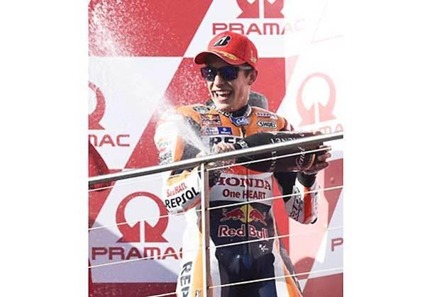 マルク・マルケス選手/MotoGP第16戦オーストラリアGP(決勝)