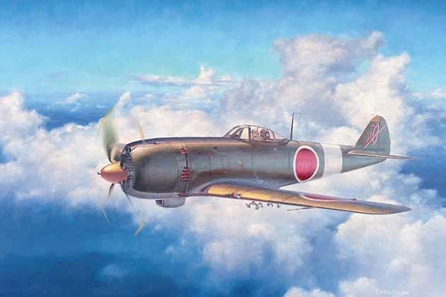 表紙のイラスト 四式戦闘機「疾風」