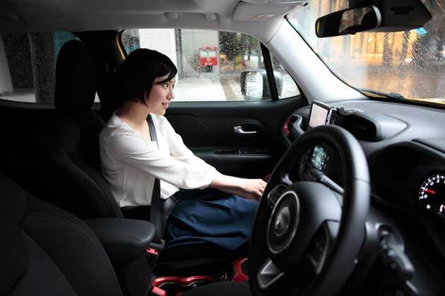 「木竜麻生」×Jeep Renegade