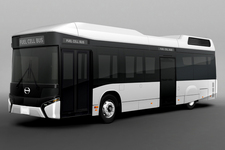 日野自動車、第44回東京モーターショー2015に燃料電池バスのコンセプトモデルなど6台を出展