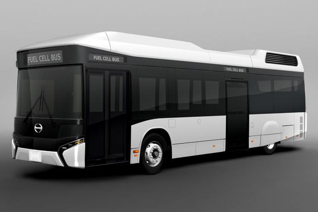 日野 FUEL CELL BUS (フューエル セル バス)