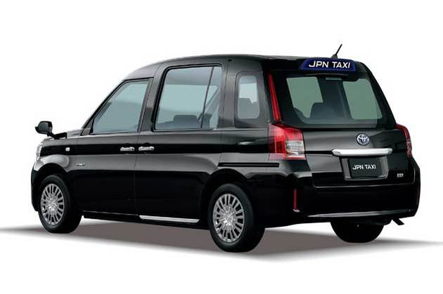 トヨタの次世代タクシー