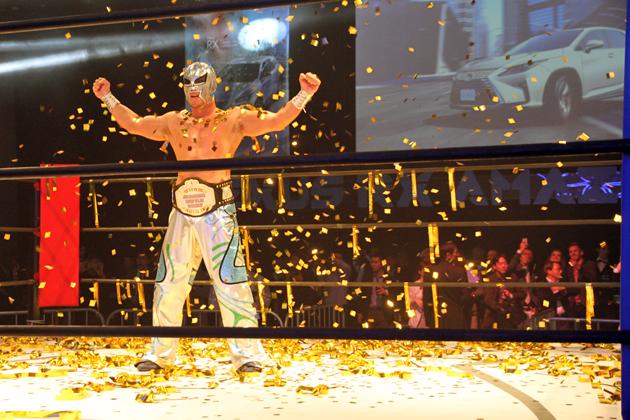 レクサス RXの正体はプロレスラー!? 渋谷ヒカリエに一夜限りのプロレスリング登場 ~LEXUS RX AMAZING NIGHT[2015年10月26日(月)] レポート~