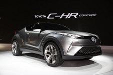 待望のプリウス級ハイブリッドSUV「CH-Rコンセプト」が日本初公開!【TMS2015】