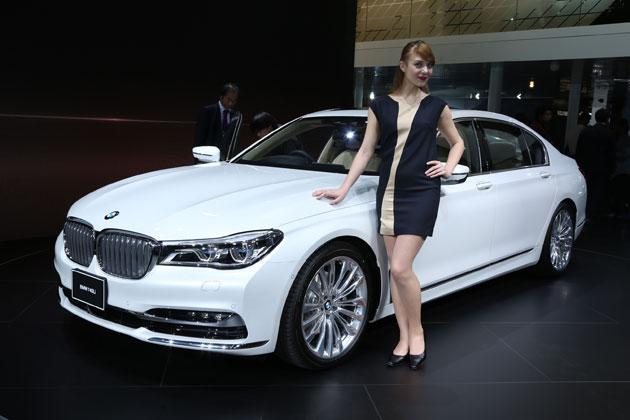 6年振りのフルモデルチェンジ、自動運転の先駆けとも言える機能も装備した「BMW 新型7シリーズ」【TMS2015】