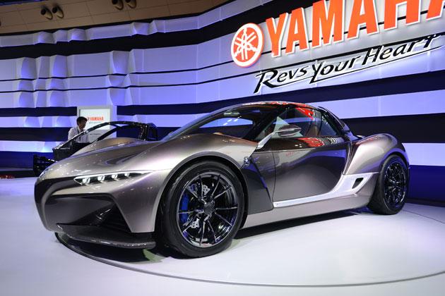 2輪のヤマハが放つ世界初公開の4輪コンセプトモデルが超格好良い!「スポーツライドコンセプト」【TMS2015】