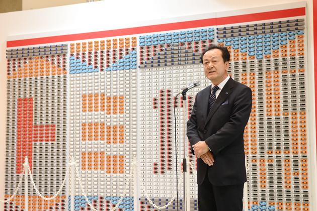 トミカ プレスブリーフィングにて株式会社タカラトミー 取締役 常務執行役員 鴻巣 崇氏