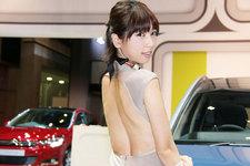 【TMS2015/美女ファイル01】清瀬まちちゃん「背中パックリドレスがセクシーすぎる!」