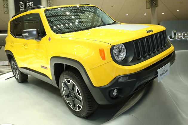 Jeepの性能はそのままに、遊び心満載のベビーJeepで話題の「レネゲード」【TMS2015】