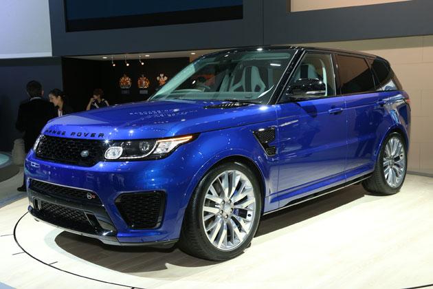 映画007にも登場する最速・最強SUV「レンジローバースポーツ SVR」【TMS2015】